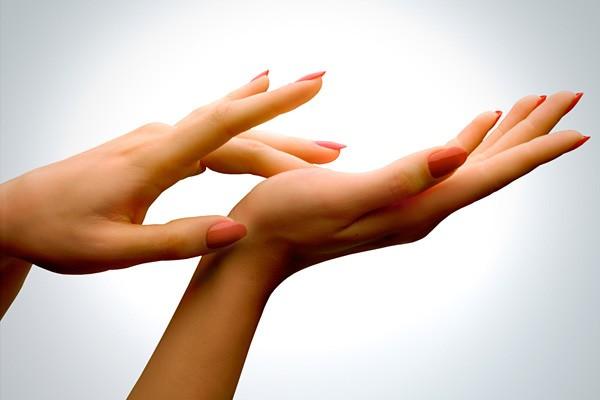 Glatte Händehaut?